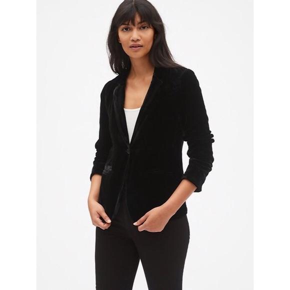 GAP Jackets & Blazers - Gap Velvet Blazer